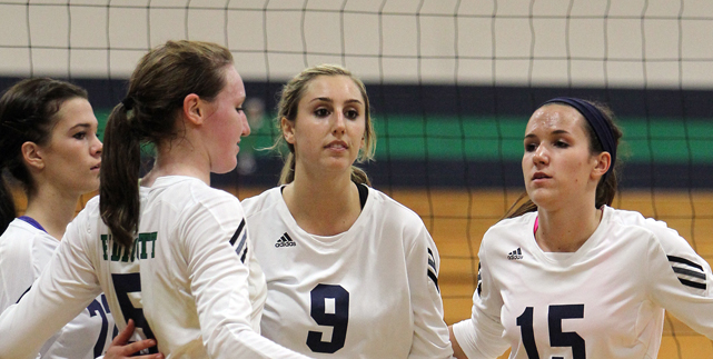 #2 Volleyball Falls to #3 Salve Regina in Four Sets in CCC Semifinals