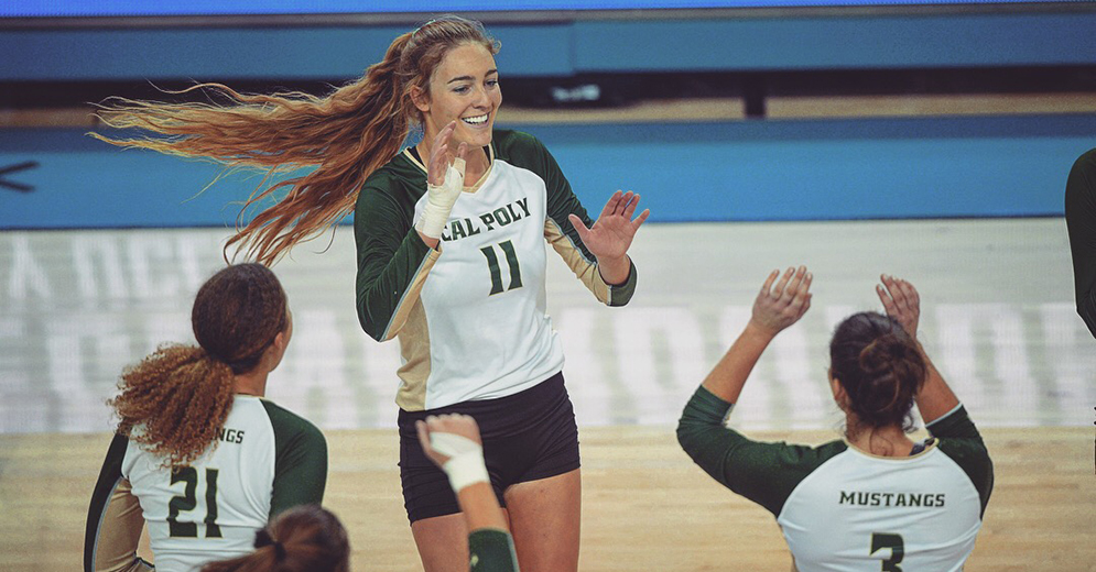 No. 21 Mustangs Sweep Denver to Advance in NCAA Tournament
