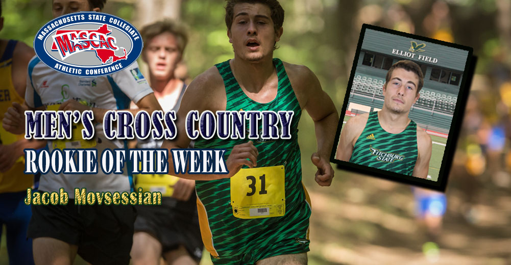 Movsessian Collects MASCAC Men's Cross Country Rookie Of The Week Honors