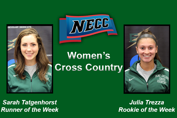 Women's Cross Country Sweeps NECC Weekly Awards