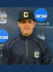 Matos named Association of Division III Independents baseball Student-Athlete of the Month