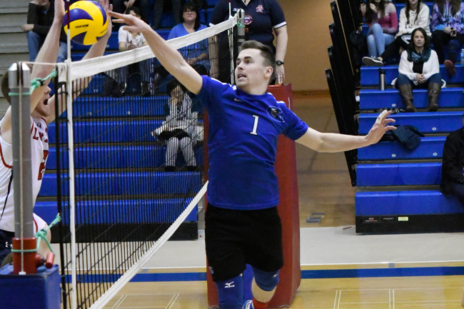 LIAM GRAY NAMED OCAA MEN'S VOLLEYBALL ATHLETE OF THE WEEK