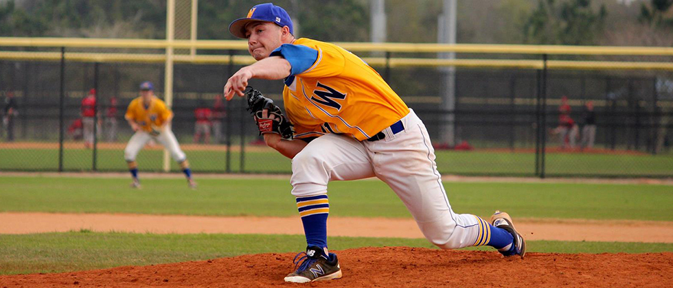 Halligan Throws Seven Shutout Innings as Golden Bears Roll to 8-1 Victory at Union