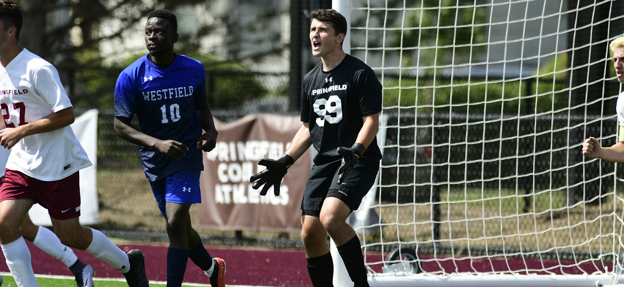 No. 24 Stevens Pulls Away From Men's Soccer, 2-0