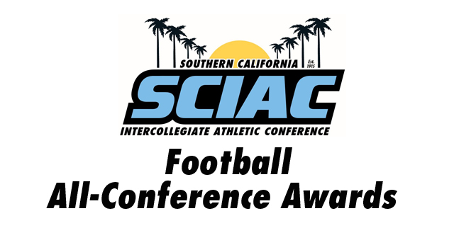 SCIAC Announces the Football All-SCIAC Teams