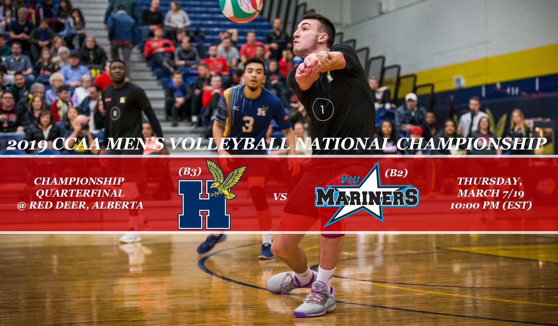 HAWKS OPEN QUEST FOR 2019 CCAA NATIONAL TITLE ON MARCH 7 VS VIU