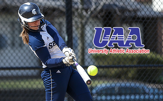 Ashley Parello Named MVP, Three Spartans Selected to 2014 UAA Softball Championship All-Tournament Team