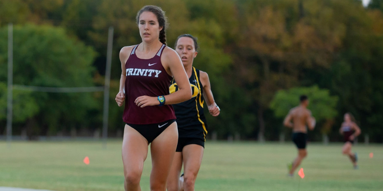 Molly McCullough, Trinity University, Runner of the Week (Week 7)