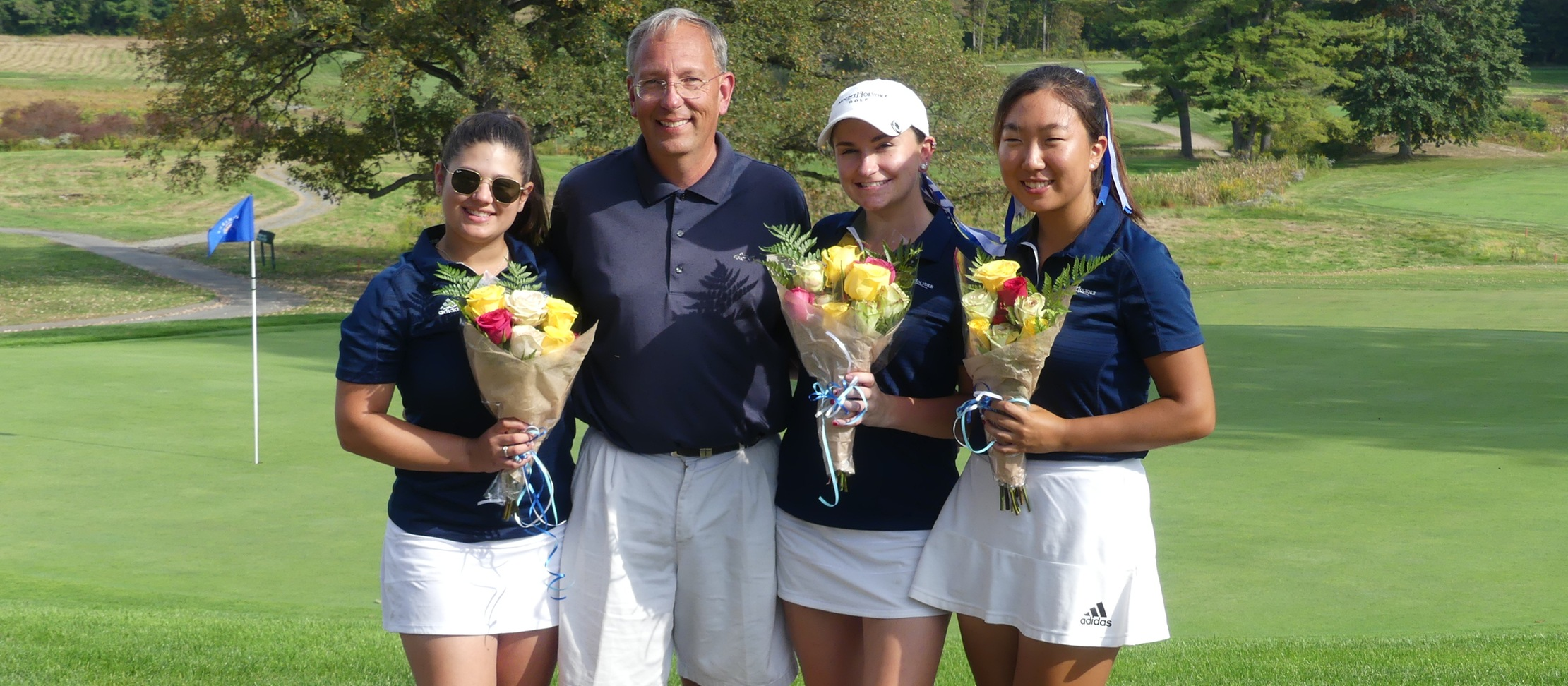 Golf Takes 10th Overall at Mount Holyoke College Invitational at The Orchards