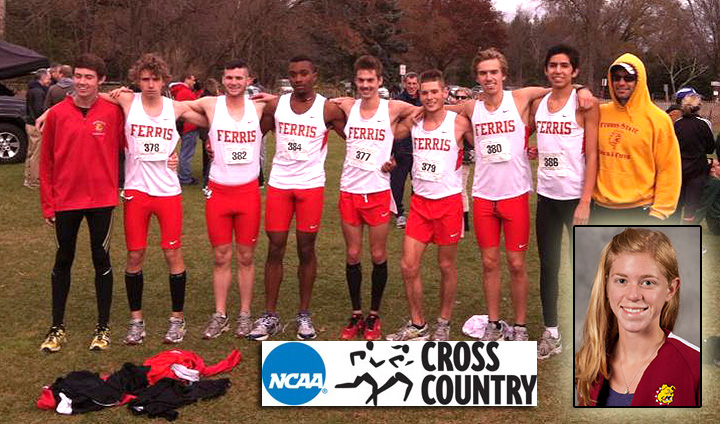 Ferris State Men's Cross Country Advances To Nationals; Johnson Wins Women's Title To Advance