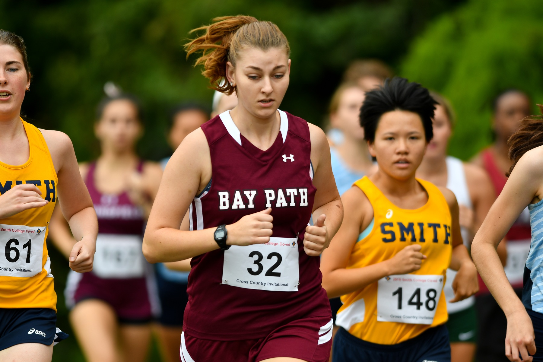 Bay Path runs in James Early Invitational 5K Race