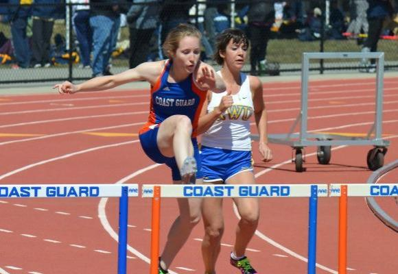 Bishop Breaks Record; Places 7th at Holy Cross Heptathlon