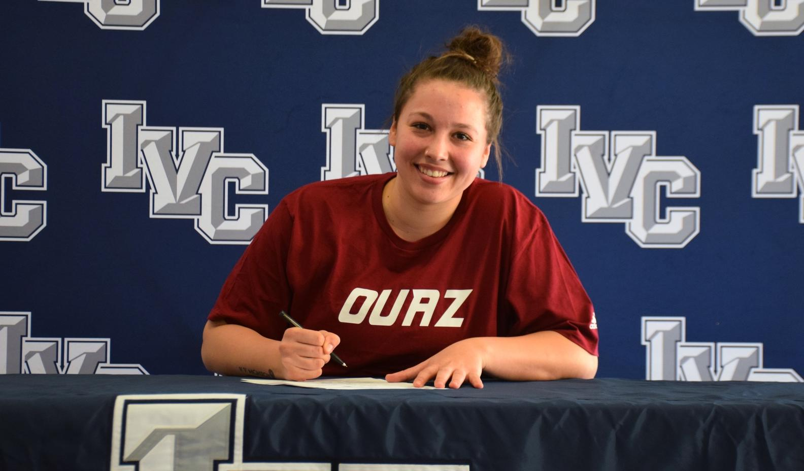 Women's basketball player Jenna Rodriguez signs with OUAZ