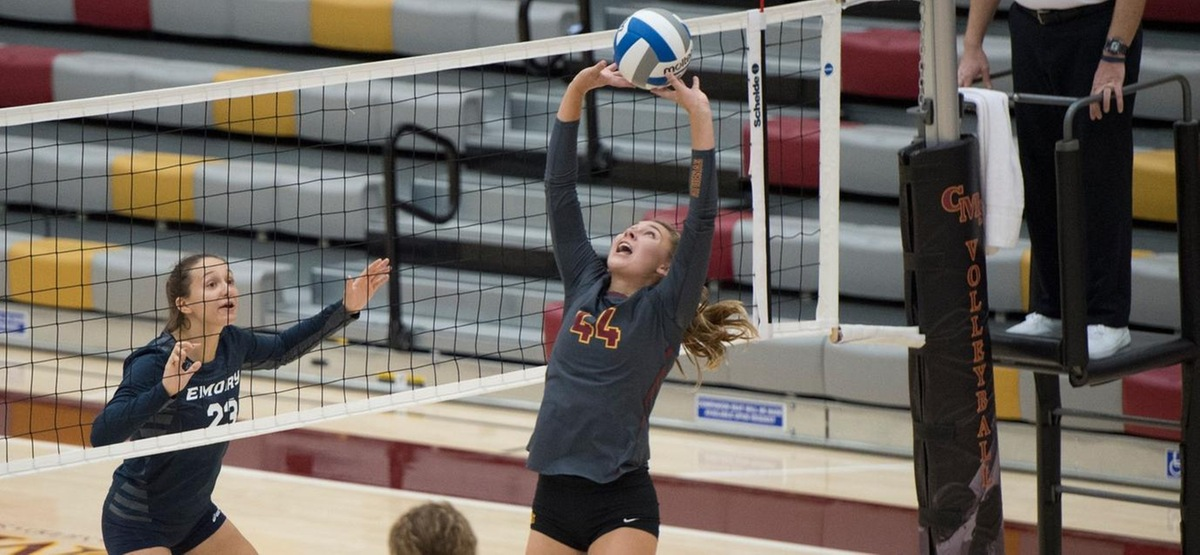 Phoebe Madsen Named SCIAC Volleyball Athlete of the Year; Four Athenas Named All-SCIAC