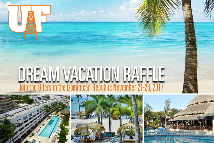 Women's Basketball Holding Dream Vacation Raffle
