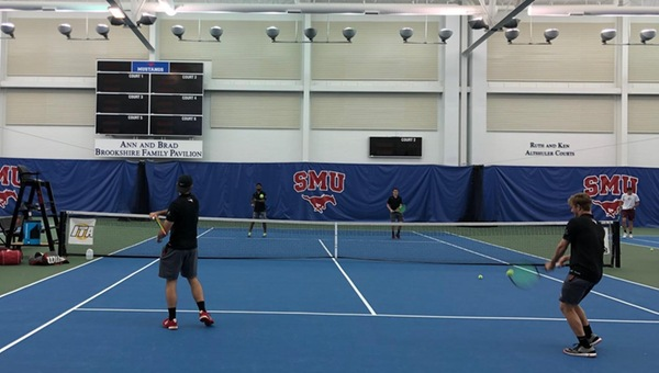 Men's Tennis Bested by #17 Trinity 5-0 at SMU