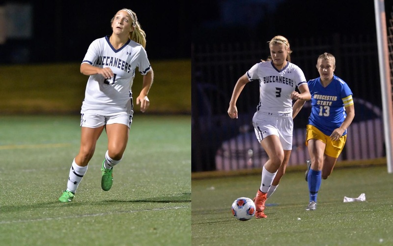 Moquin, Taylor Tabbed As 2017 Women's Soccer Co-Captains