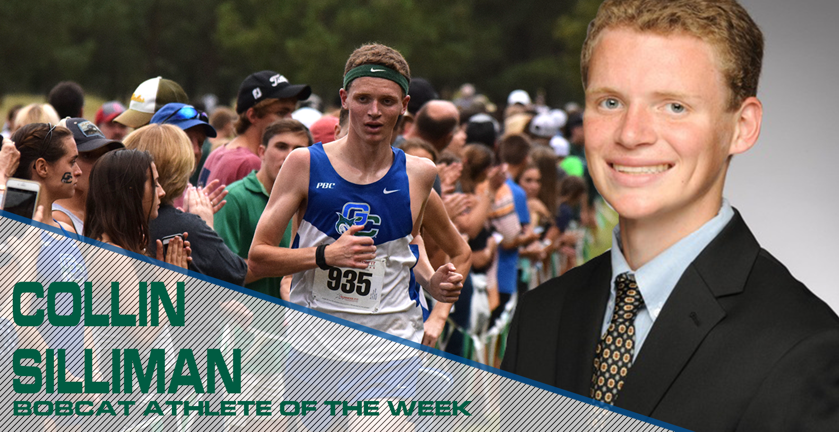 Collin Silliman earns Bobcat Athlete of the Week.