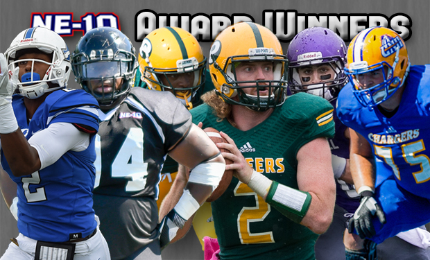 LIU Post's Jeff Kidd Named MVP as NE-10 Releases Football All-Conference Teams and Awards