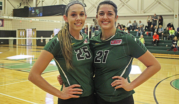 Wilmington Volleyball Ends Season on a High Note, Sweeps USciences on Senior Day