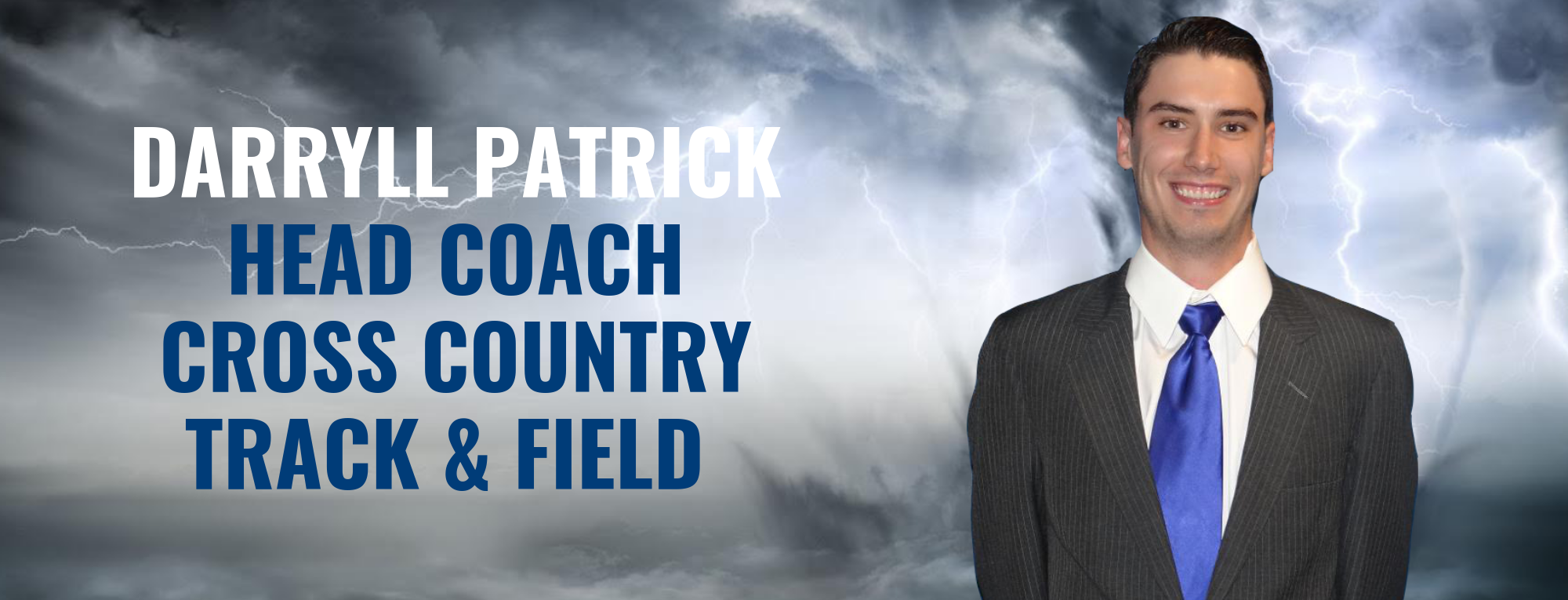 Darryll Patrick Named Head Cross Country/Track & Field Coach