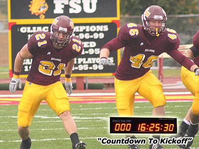 Chad Schoen (#21) and Kyle Fitzpatrick (#46), who have both changed jersey numbers, are expected to contend for starting roles this fall