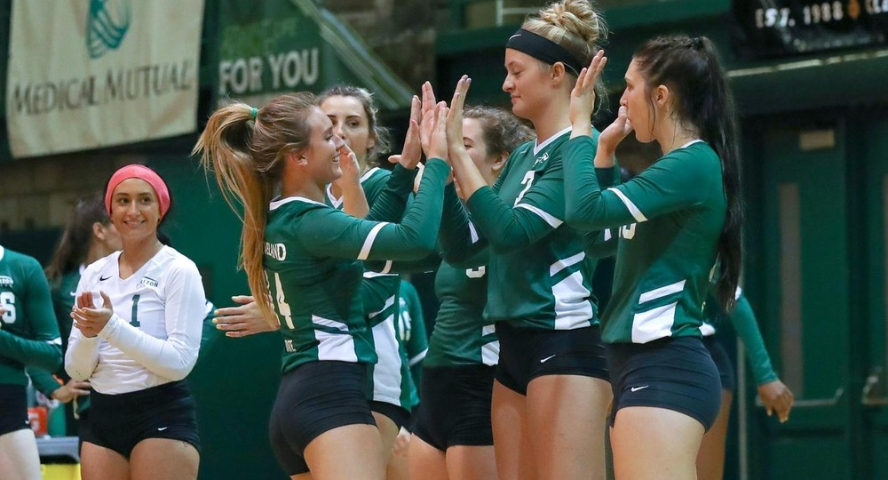 Vikings Drop Five Set Contest At Wright State