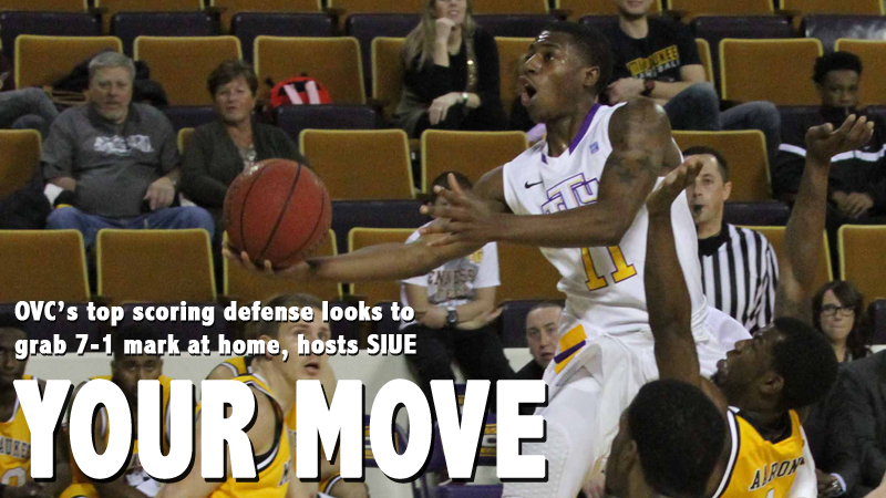 OVC's top scoring defense looks for 7-1 start at home, hosts SIUE