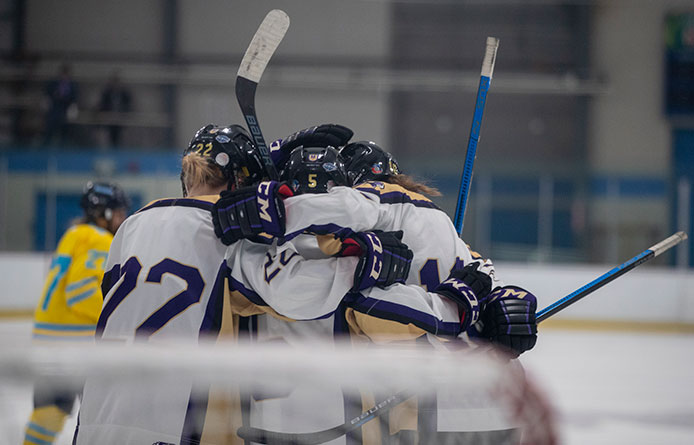 Women's Ice Hockey Opens Weekend Set Against LIU with 5-2 Setback