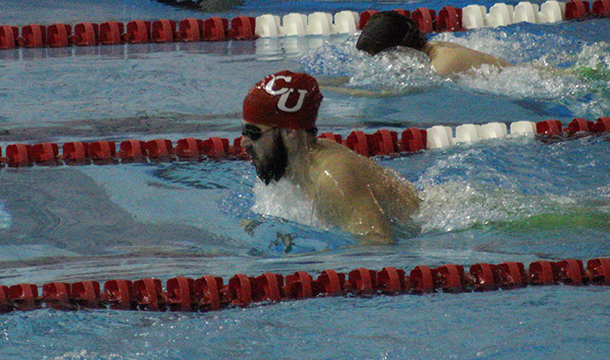 Men's Swimming & Diving 10th At Gompei