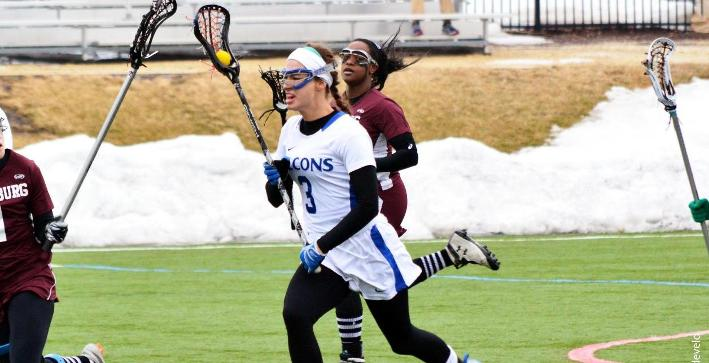 Women's Lacrosse downs Robert Morris at home