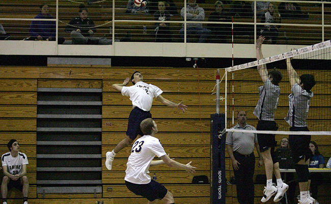 Trine Drops Straight-Set Loss To Fontbonne