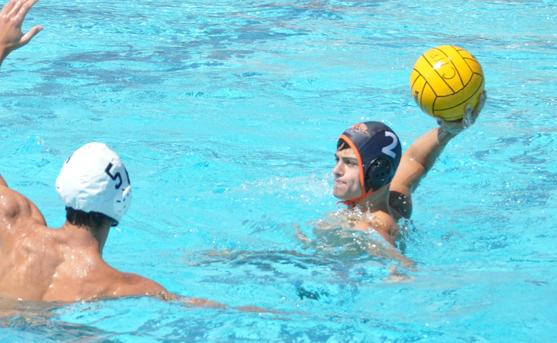 Bradley Moves Within Three Goals of Men's Water Polo Record