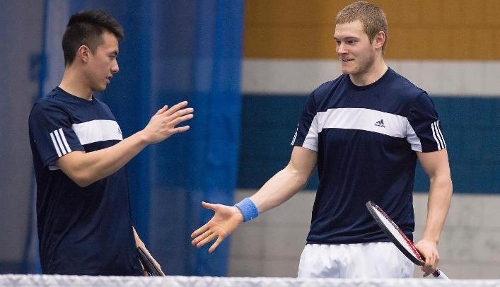 Men's Tennis on Spring Break - Blugolds Complete Trip Undefeated