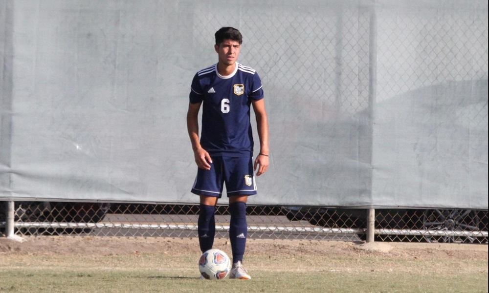 SPAIN'S PABLO ROS SIGNS NATIONAL LETTER OF INTENT TO PLAY FOR MEN'S SOCCER