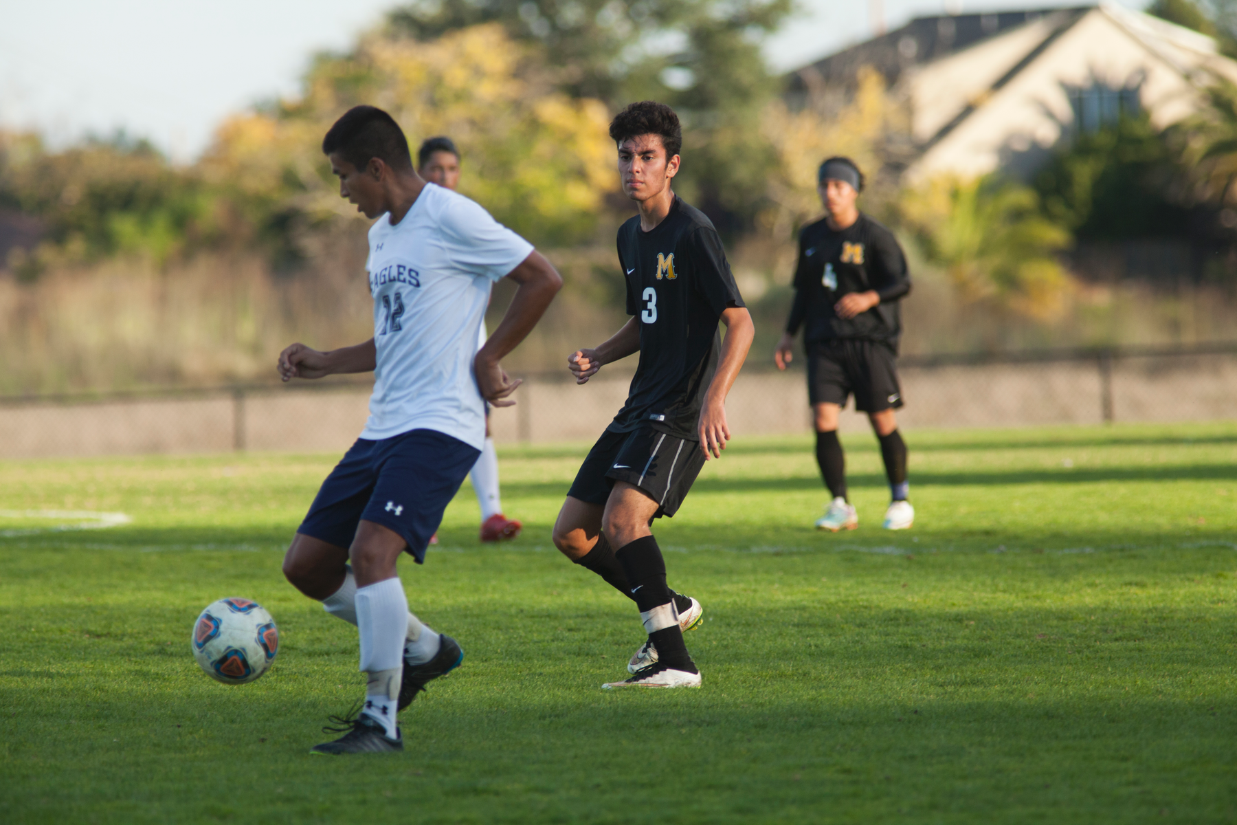 College of Marin Men's Soccer Unable to Generate Offense Versus Contra Costa