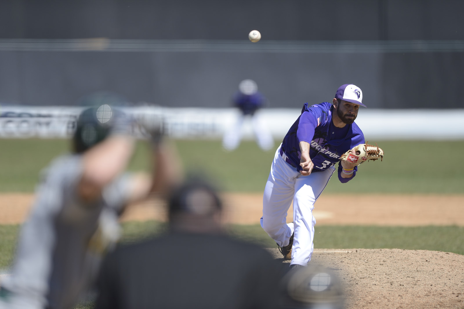 Purple Knights Defeat St. Thomas Aquinas, 5-3, In ECC Baseball Action