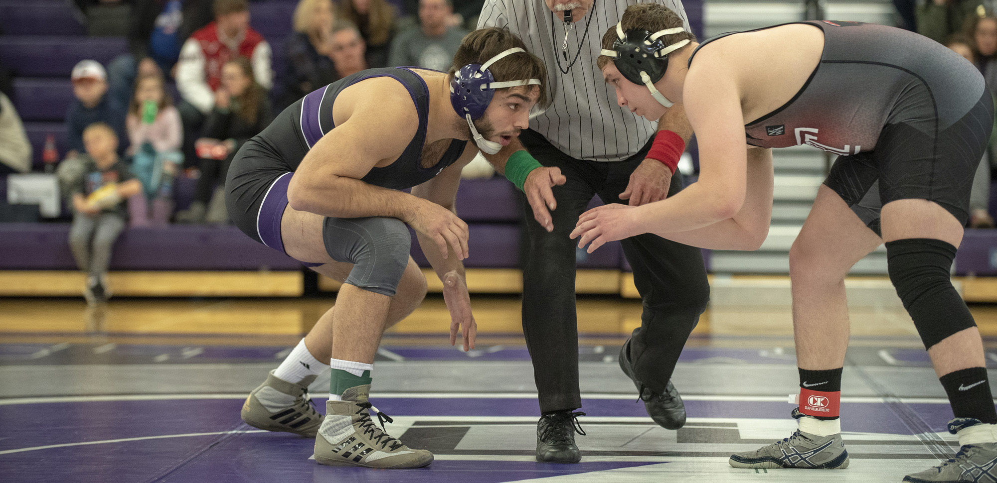 Dan D'Agostini has been ranked among the nation's top wrestlers at 197 pounds.
