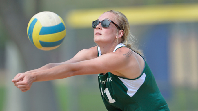 SATURDAY'S BEACH VOLLEYBALL MATCHES MOVED TO SAC SOFTBALL COMPLEX