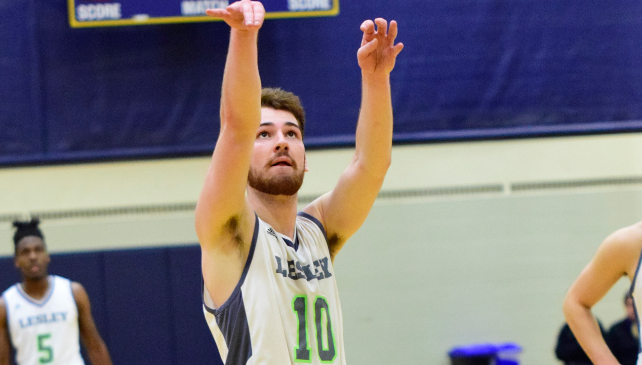 Martin Leads Men's Basketball to Victory over Raiders