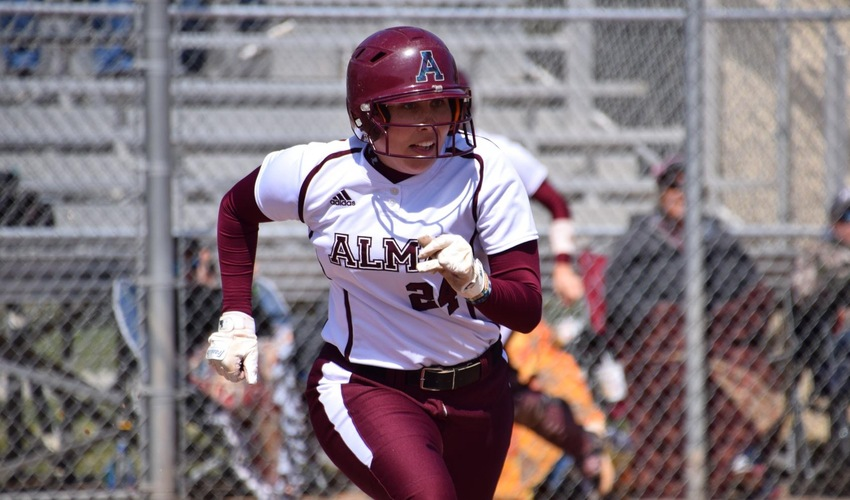 Softball Splits with No. 9 Trine in Polar Opposite Games