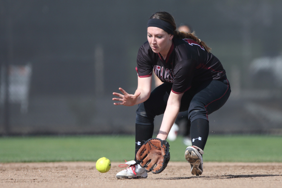 Softball Plays in Wolfpack Classic In Reno, Nev.