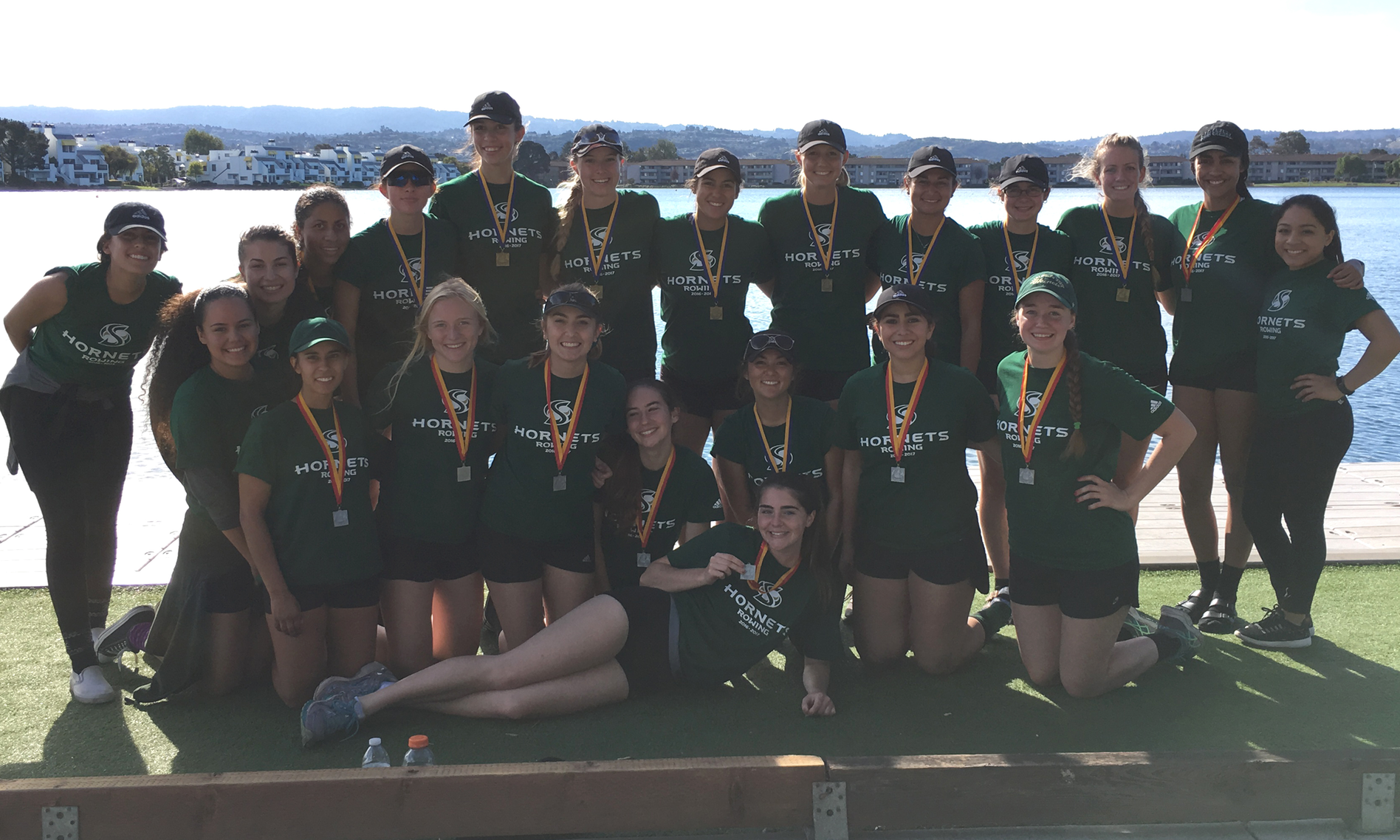 ROWING WINS GOLD AND SILVER AT THE HEAD OF THE LAGOON