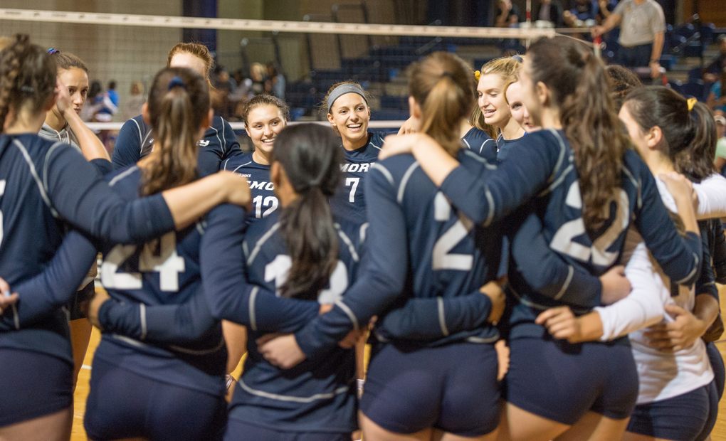 Emory Volleyball Eyes UAA Round Robin I