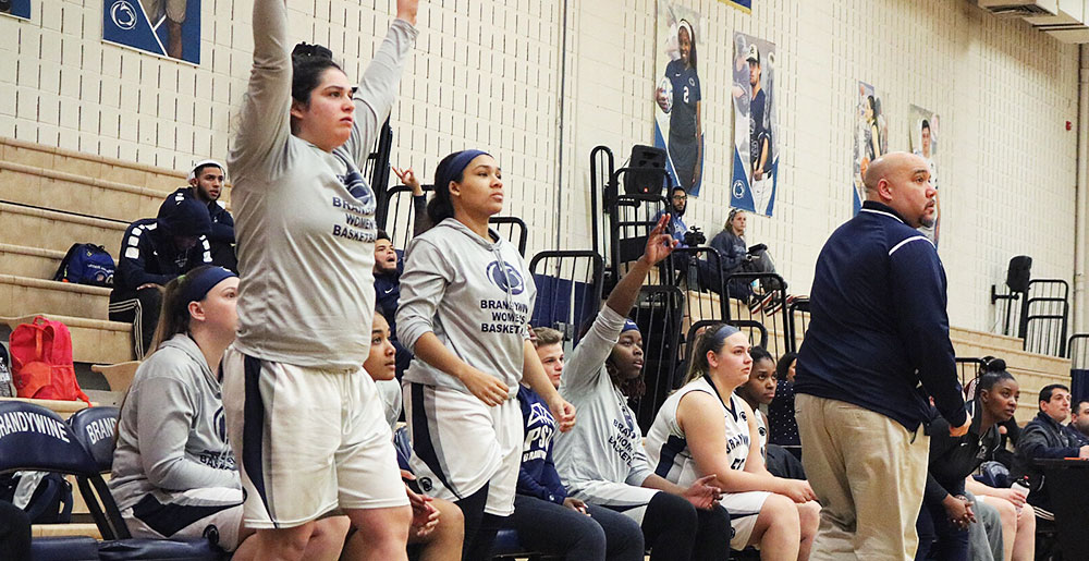Brandywine women's basketball
