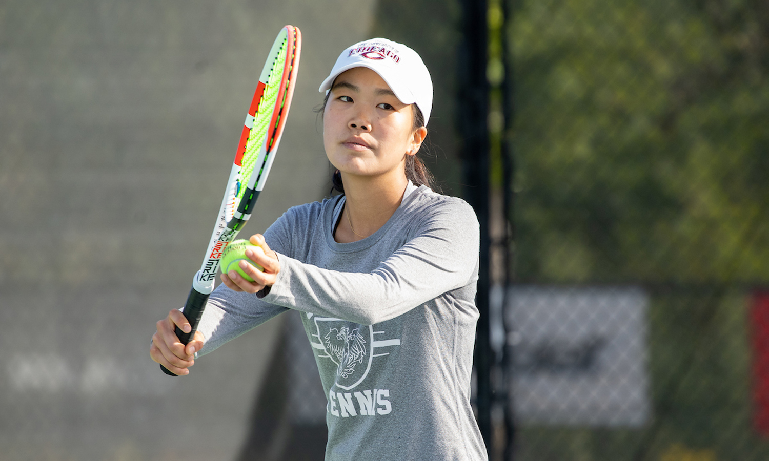 Lauren Park (PHOTO CREDIT: Intercollegiate Tennis Association)