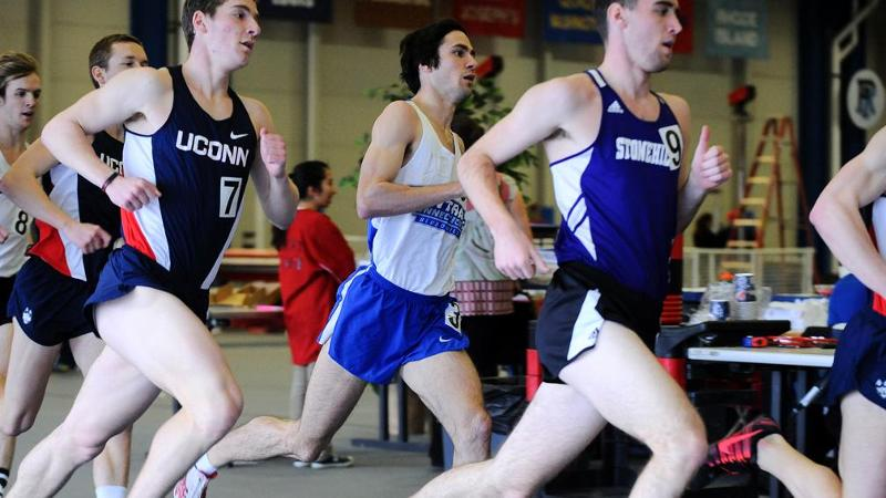 Men's Track & Field 3rd at NEC Championships