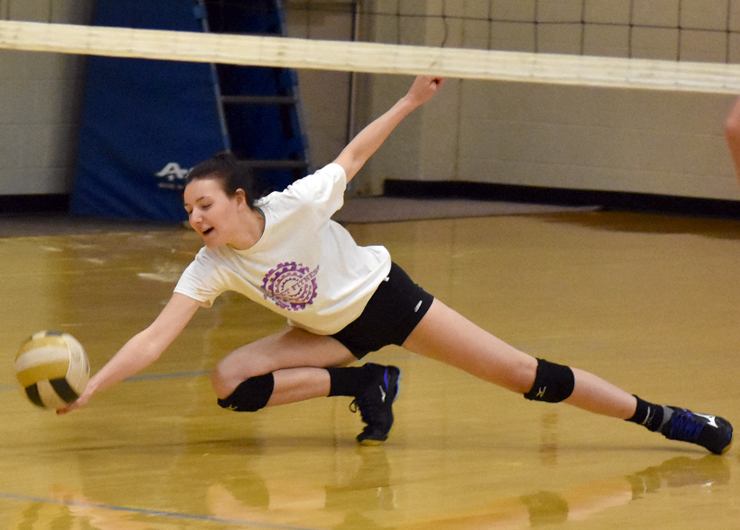 Lakers lack teamwork on the court but still sweep Cuyahoga, 3-0