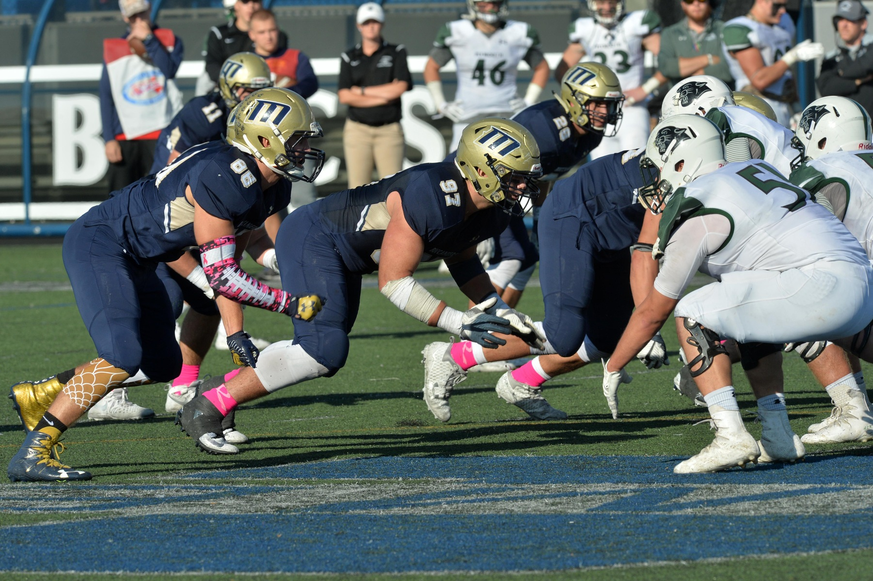 Buc Defense Strong in Loss to Colonials