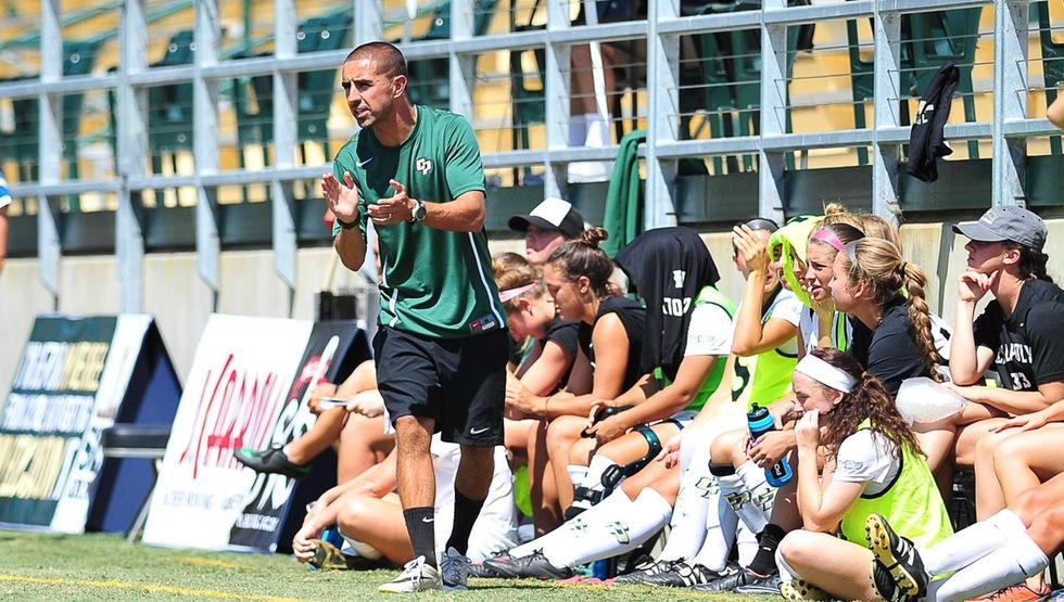 Bernardo Silva joins the UCSB women's soccer coaching staff after serving as Associate Head Coach at Cal Poly. (Photo courtesy of Cal Poly Athletics)